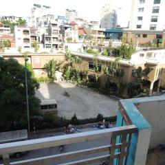 Hai Trang Hotel Халонг балкон