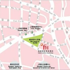 Shanghai Forte Hotel городской автобус