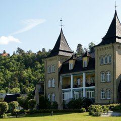 Отель Hotell Refsnes Gods фото 8