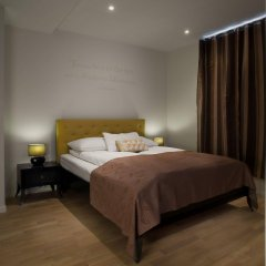Отель Basic Bergen Берген комната для гостей