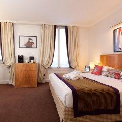 Отель Hôtel Waldorf Trocadéro комната для гостей