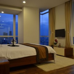 Апартаменты An Phu Plaza Serviced Apartment комната для гостей фото 3