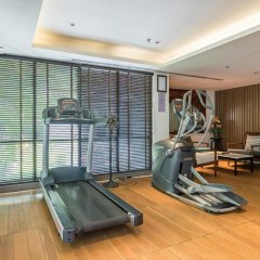 Отель Arcadia Suites Bangkok Бангкок фитнесс-зал фото 3