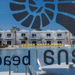 Отель Arena Beach бассейн фото 3