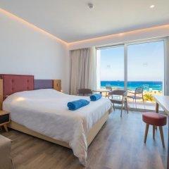 Отель Protaras Plaza Кипр, Протарас - отзывы, цены и фото номеров - забронировать отель Protaras Plaza онлайн комната для гостей фото 5