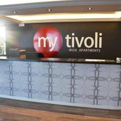 Отель Apartamentos Playasol My Tivoli Испания, Ивиса - отзывы, цены и фото номеров - забронировать отель Apartamentos Playasol My Tivoli онлайн интерьер отеля