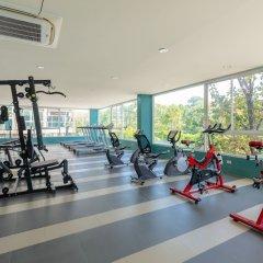 Отель JJAirportHotelCondominium For Rent 2 Таиланд, пляж Май Кхао - отзывы, цены и фото номеров - забронировать отель JJAirportHotelCondominium For Rent 2 онлайн фитнесс-зал фото 3
