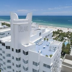 Отель Delano South Beach пляж