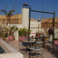 Отель Riad Agathe Марракеш бассейн