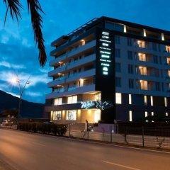Отель Sky View Luxury Apartments Черногория, Будва - отзывы, цены и фото номеров - забронировать отель Sky View Luxury Apartments онлайн вид на фасад