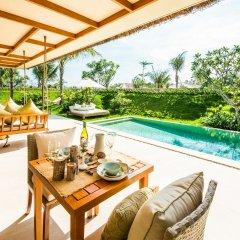 Отель Fusion Resort Phu Quoc Вьетнам, остров Фукуок - отзывы, цены и фото номеров - забронировать отель Fusion Resort Phu Quoc онлайн балкон