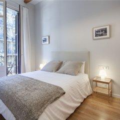 Апартаменты Habitat Apartments Boulevard Барселона комната для гостей фото 5