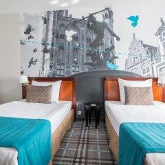 Отель Hanza Hotel Польша, Гданьск - 2 отзыва об отеле, цены и фото номеров - забронировать отель Hanza Hotel онлайн комната для гостей фото 3