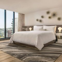Отель JW Marriott Parq Vancouver Канада, Ванкувер - отзывы, цены и фото номеров - забронировать отель JW Marriott Parq Vancouver онлайн комната для гостей фото 5