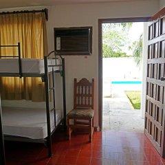 Отель Hostel El Corazon Мексика, Канкун - 1 отзыв об отеле, цены и фото номеров - забронировать отель Hostel El Corazon онлайн комната для гостей фото 6