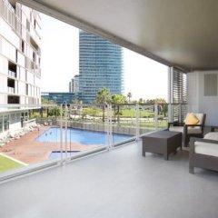 Отель Rent Top Apartments Beach-Diagonal Mar Испания, Барселона - отзывы, цены и фото номеров - забронировать отель Rent Top Apartments Beach-Diagonal Mar онлайн бассейн