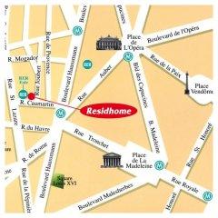 Отель Residhome Appart Hotel Paris-Opéra Франция, Париж - 4 отзыва об отеле, цены и фото номеров - забронировать отель Residhome Appart Hotel Paris-Opéra онлайн городской автобус