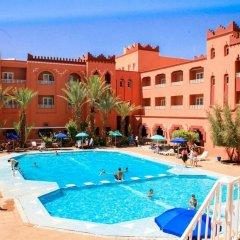 Отель Hôtel Farah Al Janoub Марокко, Уарзазат - отзывы, цены и фото номеров - забронировать отель Hôtel Farah Al Janoub онлайн бассейн