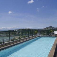 Отель Bourbon Vitoria Hotel (Residence) Бразилия, Витория - отзывы, цены и фото номеров - забронировать отель Bourbon Vitoria Hotel (Residence) онлайн бассейн фото 3