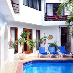 Отель Club Yebo Плая-дель-Кармен бассейн фото 2