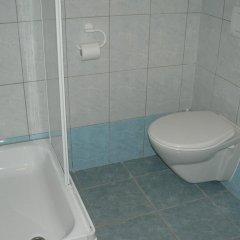 Отель Penzion W Пльзень ванная