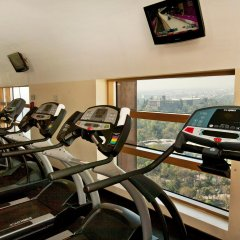 Отель Grand Fiesta Americana Chapultepec фитнесс-зал