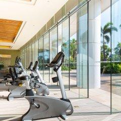 Отель Xiamen International Conference Center Hotel Китай, Сямынь - отзывы, цены и фото номеров - забронировать отель Xiamen International Conference Center Hotel онлайн фитнесс-зал фото 2