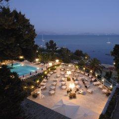 Отель Corfu Palace пляж