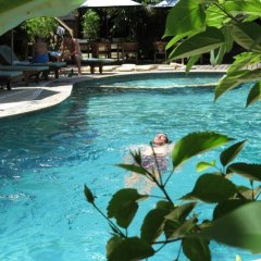Отель Balangan Sea View Bungalow бассейн
