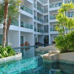 Отель Chanalai Romantica Resort Kata Beach - Adult Only бассейн