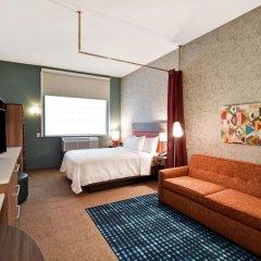 Отель Home2 Suites by Hilton Columbus Downtown США, Колумбус - отзывы, цены и фото номеров - забронировать отель Home2 Suites by Hilton Columbus Downtown онлайн комната для гостей фото 5