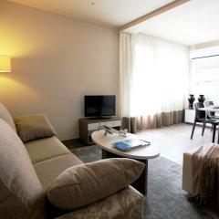 Отель Residence Pierre & Vacances Barcelona Sants Барселона комната для гостей