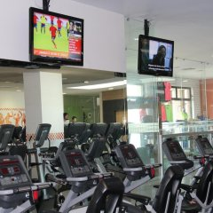 Hotel Real Zapopan фитнесс-зал
