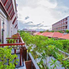 Отель Silk Sense Hoi An River Resort Вьетнам, Хойан - отзывы, цены и фото номеров - забронировать отель Silk Sense Hoi An River Resort онлайн балкон