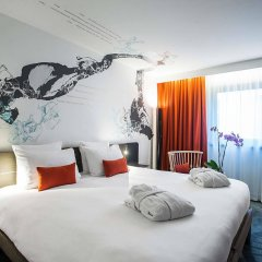 Отель Novotel Paris Les Halles Франция, Париж - 8 отзывов об отеле, цены и фото номеров - забронировать отель Novotel Paris Les Halles онлайн комната для гостей фото 5