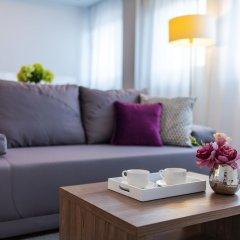 Отель P&O Apartments Oxygen Wronia 4 Польша, Варшава - отзывы, цены и фото номеров - забронировать отель P&O Apartments Oxygen Wronia 4 онлайн комната для гостей фото 4