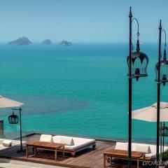 Отель InterContinental Samui Baan Taling Ngam Resort пляж фото 2