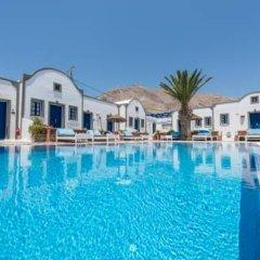 Отель Princess Santorini Villa Греция, Остров Санторини - отзывы, цены и фото номеров - забронировать отель Princess Santorini Villa онлайн бассейн