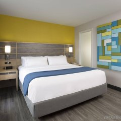 Отель Holiday Inn Express Quebec City - Sainte Foy Канада, Квебек - отзывы, цены и фото номеров - забронировать отель Holiday Inn Express Quebec City - Sainte Foy онлайн комната для гостей фото 2