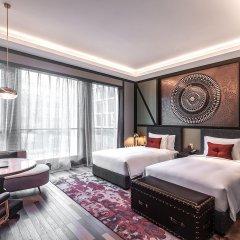 Отель Indigo Shanghai Hongqiao Китай, Шанхай - отзывы, цены и фото номеров - забронировать отель Indigo Shanghai Hongqiao онлайн комната для гостей фото 3