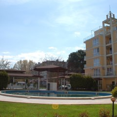Apart Hotel Flores Park Солнечный берег бассейн фото 2
