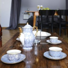 Апартаменты Designers Apartment In The Old Town питание