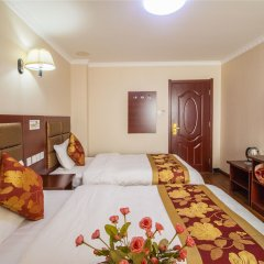 Отель Hongye Hotel Xi'an Xianyang Airport Китай, Сяньян - отзывы, цены и фото номеров - забронировать отель Hongye Hotel Xi'an Xianyang Airport онлайн комната для гостей фото 4