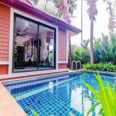Отель Serene Boutique Garden Resorts бассейн
