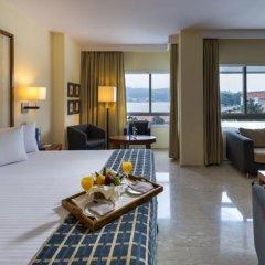 Hesperia Isla De La Toja Hotel Эль-Грове комната для гостей фото 4