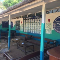 Отель New DaVinci Beach & Diving Resort гостиничный бар