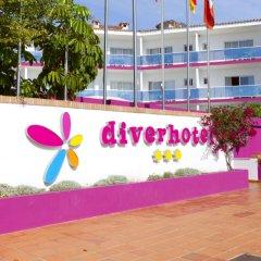 Отель Diverhotel Dino Marbella пляж фото 2