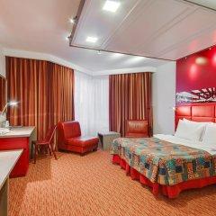 Ред Старз Отель 4* Стандартный номер с двуспальной кроватью фото 14