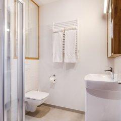 Отель Апарт-отель City Comfort Польша, Варшава - 8 отзывов об отеле, цены и фото номеров - забронировать отель Апарт-отель City Comfort онлайн ванная фото 2