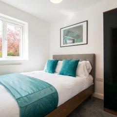 Отель Bluestone Apartments - Didsbury Великобритания, Манчестер - отзывы, цены и фото номеров - забронировать отель Bluestone Apartments - Didsbury онлайн комната для гостей фото 2